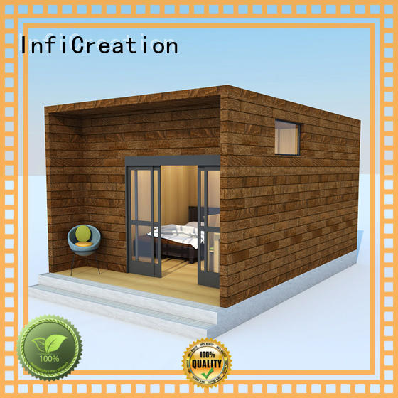 InfiCreation portable prefab manufactured homes designer for accommodation