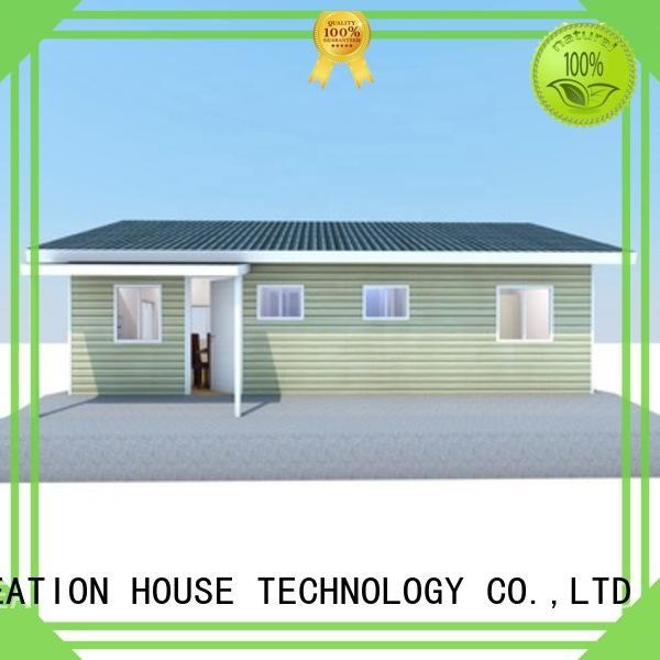 comfortable prefab manufactured homes manufacturer for resorts