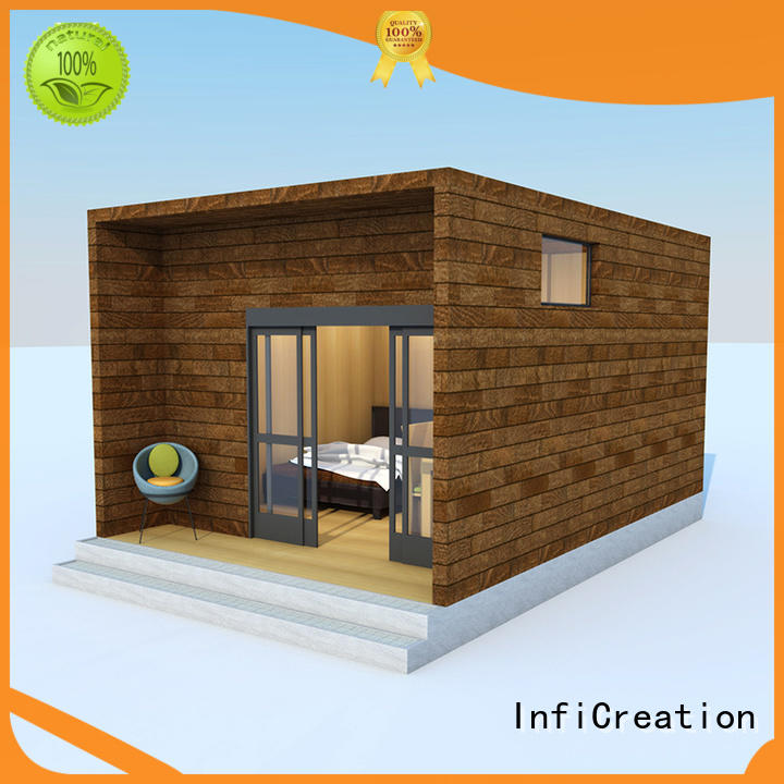 portable prefabricated cottages factory price for entertainment centers