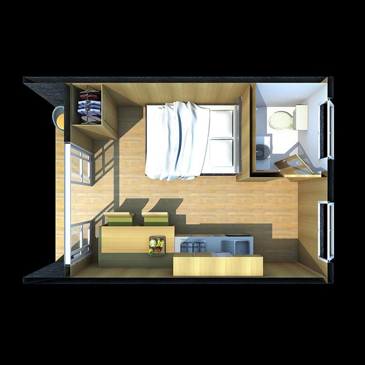 Design Your Own Leisure Suite Prefabricated Villa House