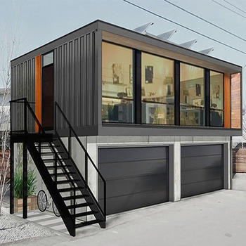 Luxury Container Coffee Shop Prefab Container House