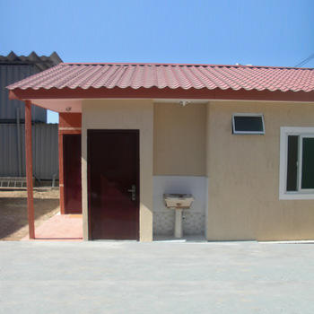 Economic Prefabricated Houses Luxury Light Steel  Prefab  Villa Garden House 2 Bedroom
