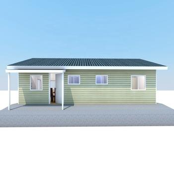 Luxury Light Steel Prefab Villa Garden House 2 Bedroom