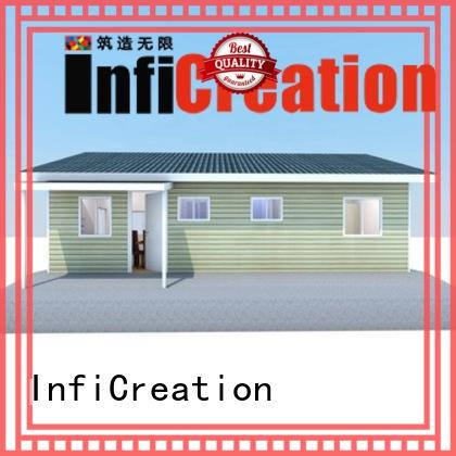 InfiCreation economical prefab villa custom for accommodation