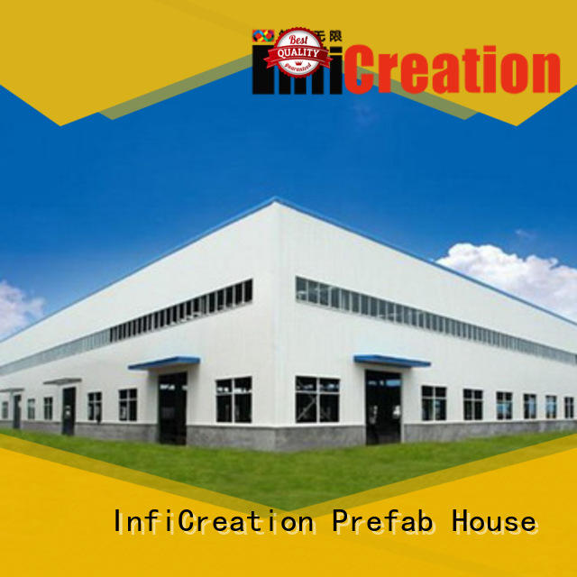 InfiCreation environmental friendly premade warehouse customized for storage