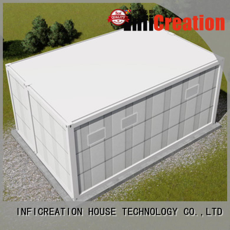 recyclable prefab container house supplier for accommodation