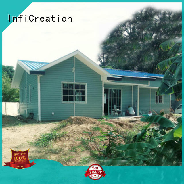 InfiCreation prefab modular homes designer for accommodation
