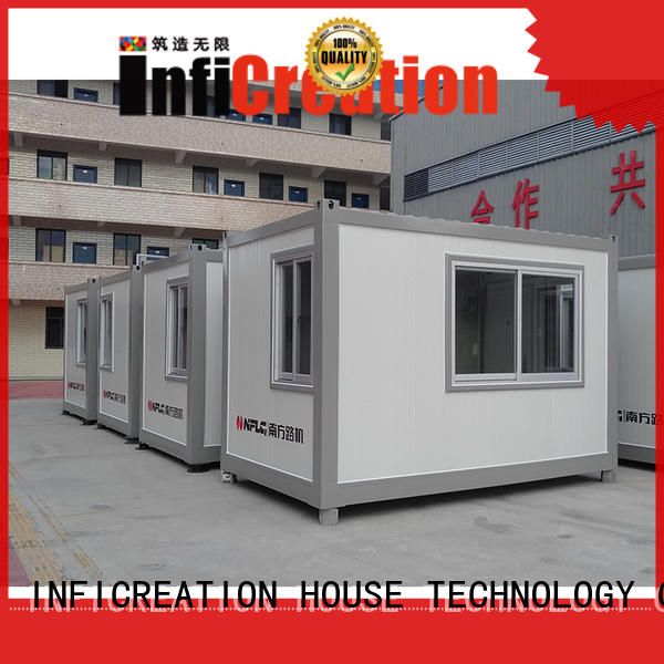 InfiCreation premade container homes factory price for carport