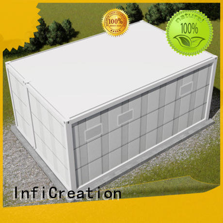 InfiCreation low cost cargo container homes factory price for carport