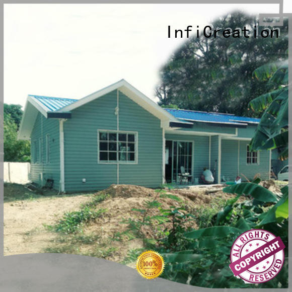 InfiCreation mobile prefabricated villa manufacturer for resorts