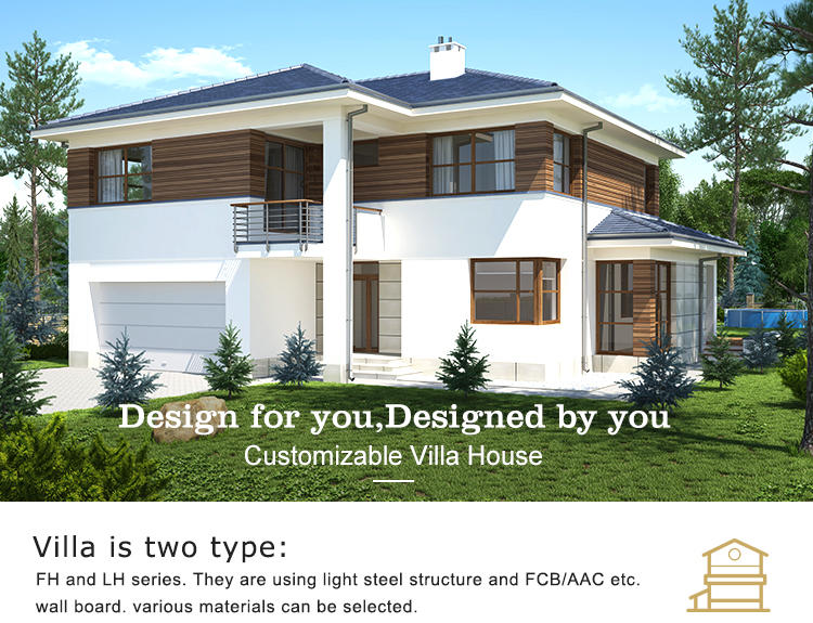 InfiCreation beautiful prefabricated luxury villas custom for entertainment centers-2