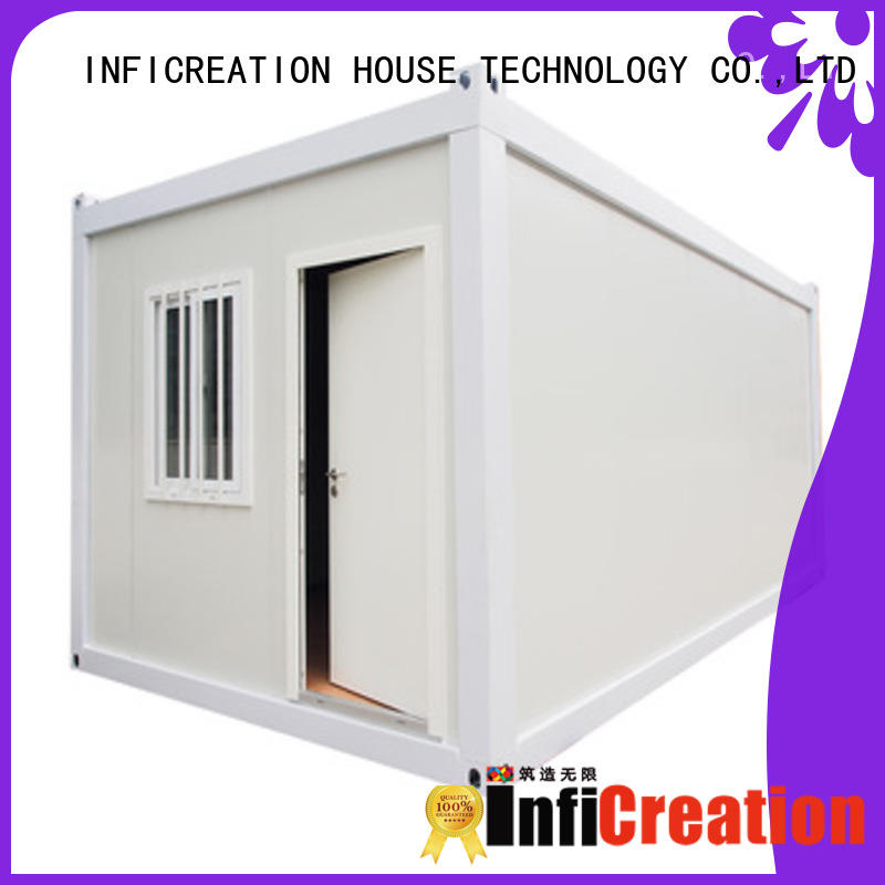 InfiCreation long lasting prefab storage container homes factory price for accommodation