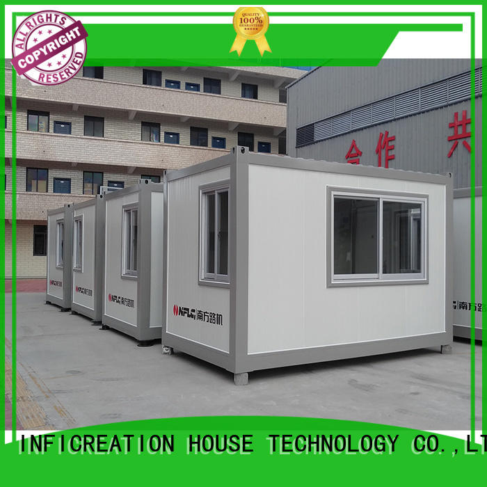 InfiCreation prefab storage container homes factory price for accommodation