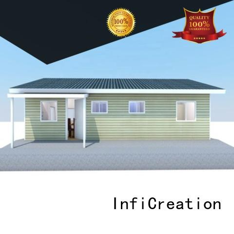 comfortable modular villas designer for resorts
