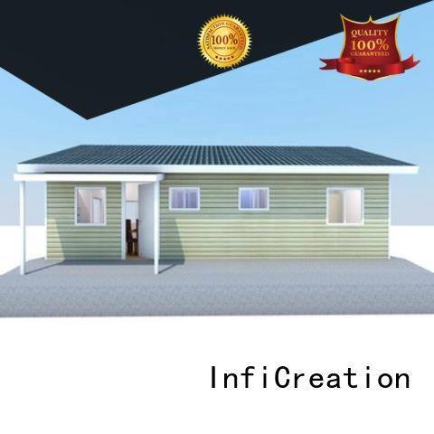 comfortable modular villas designer for resorts