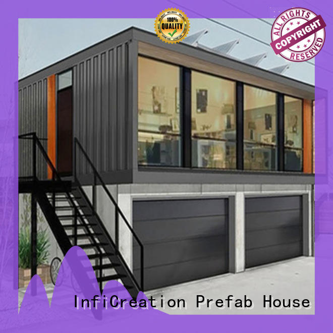 InfiCreation steel custom container homes factory price for office