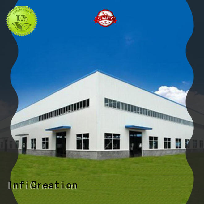 windproof prefabricated steel warehouse design for company
