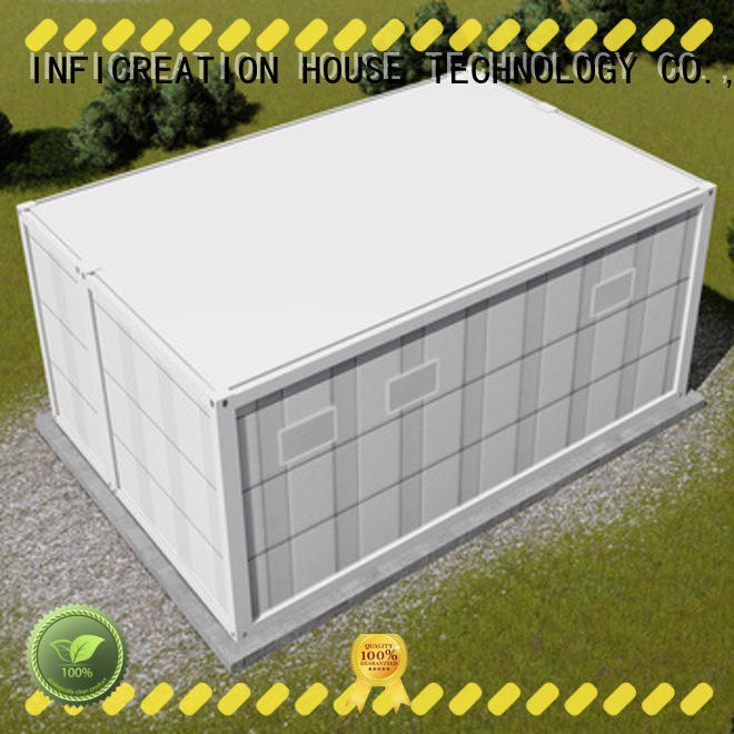 InfiCreation premade container homes manufacturer for toilet