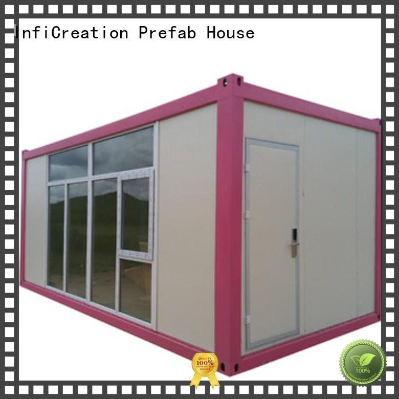 InfiCreation prefab container homes supplier for accommodation