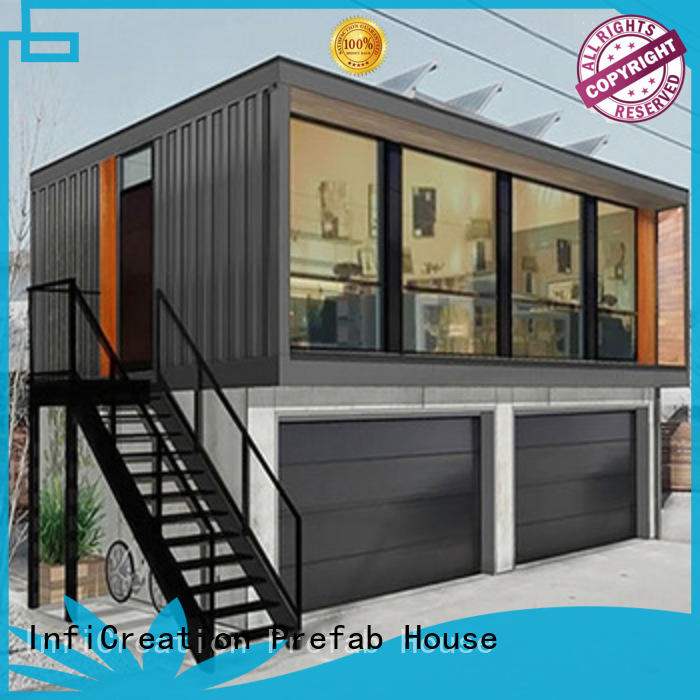 recyclable cargo container house customized for booth