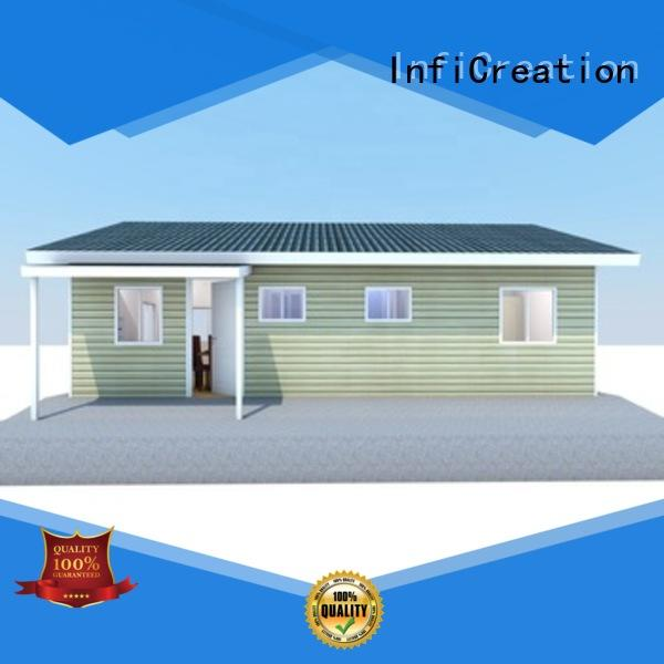 portable prefabricated cottages manufacturer for accommodation