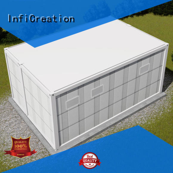 InfiCreation pre built container homes factory price for carport