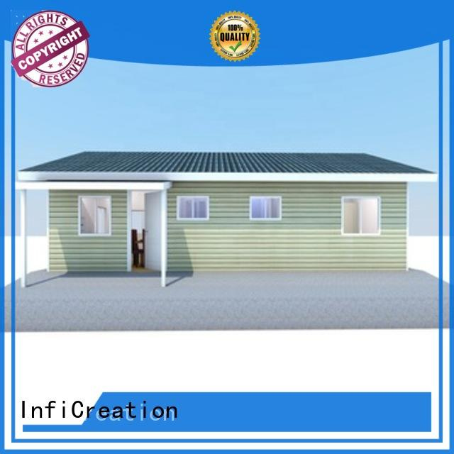 InfiCreation economical pre manufactured homes factory price for accommodation