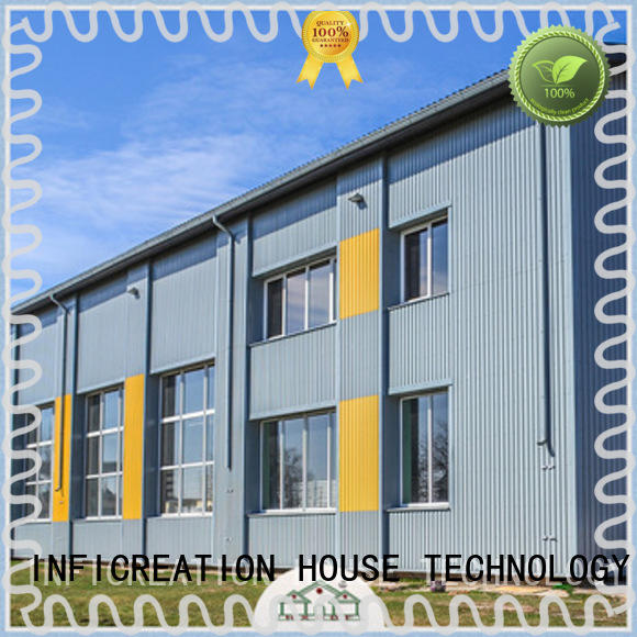 InfiCreation prefab warehouse building supplier for cargo