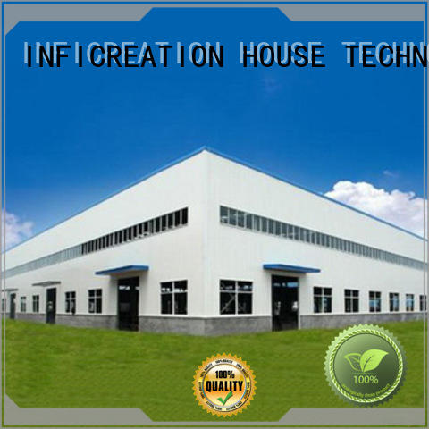windproof prefab warehouse directly sale for factory