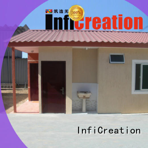 InfiCreation low cost modular container homes manufacturer for accommodation