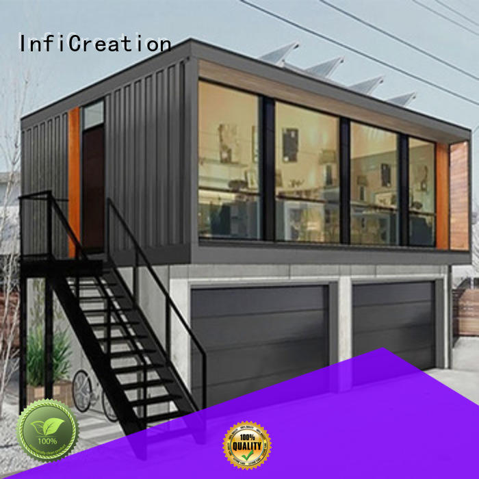 InfiCreation cargo container house factory for toilet
