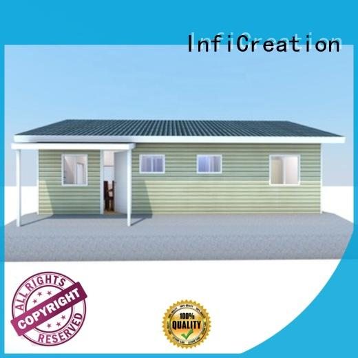 InfiCreation beautiful prefabricated luxury villas custom for entertainment centers