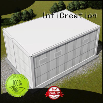 InfiCreation durable prefabricated container homes customized for office