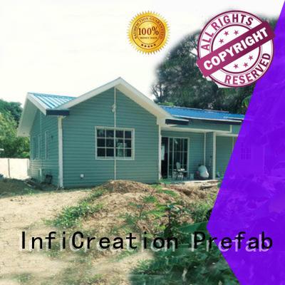 InfiCreation pre built houses custom for accommodation