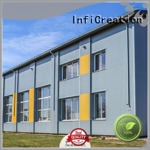 fast assembly pre manufactured warehouse supplier for cargo