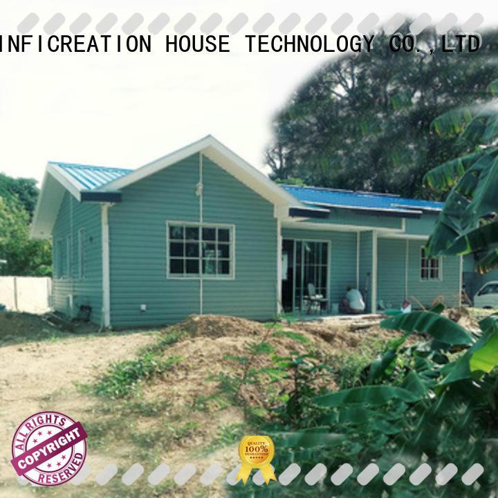 InfiCreation economical prefab modular homes custom for hotel