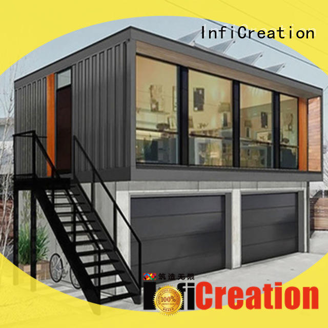 InfiCreation freight container homes manufacturer for carport