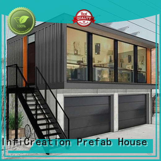 InfiCreation low cost modular container homes factory for office