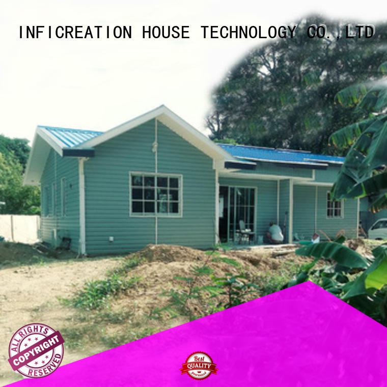 InfiCreation comfortable premade homes custom for hotel
