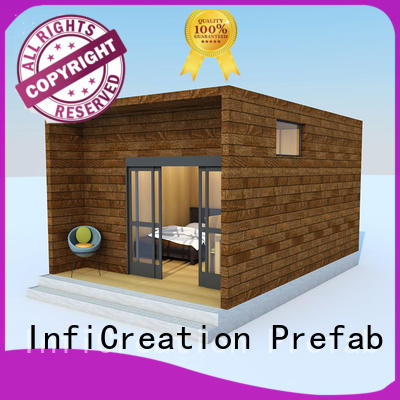 InfiCreation economical modular house for resorts
