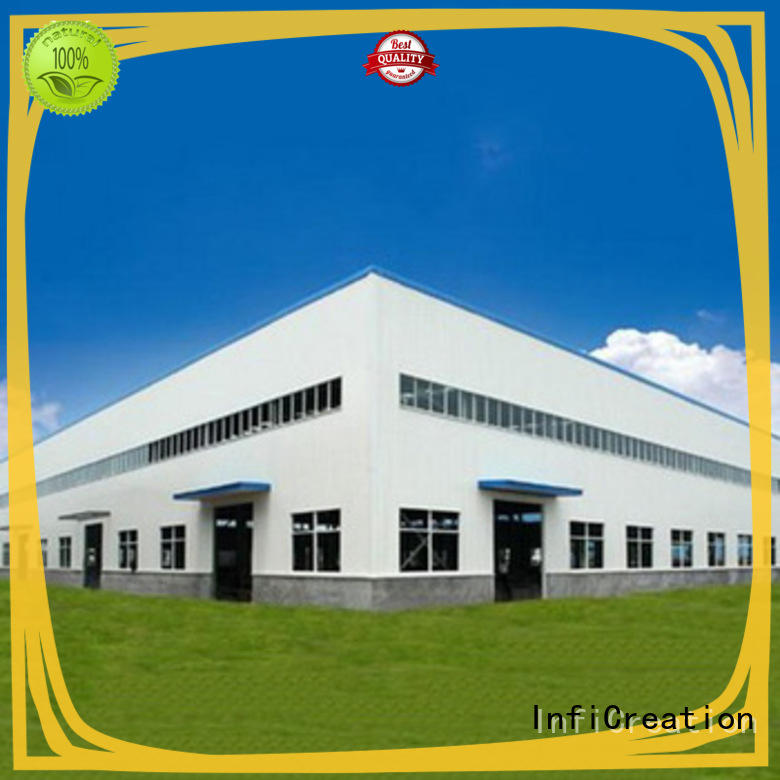 InfiCreation pre built warehouse customized for factory