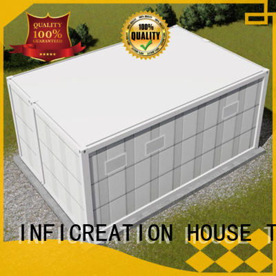 InfiCreation recyclable cargo container house manufacturer for accommodation