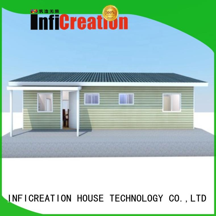 InfiCreation luxury prefab homes manufacturer for entertainment centers