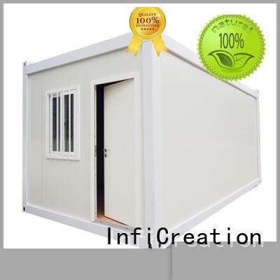 InfiCreation cargo container homes factory for booth