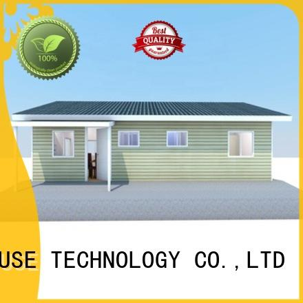 comfortable pre fabricated cottages manufacturer for accommodation