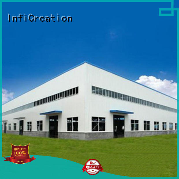 InfiCreation fast assembly prefabricated warehouse buildings supplier for company