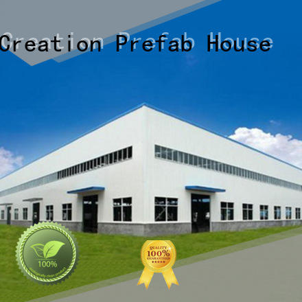 InfiCreation fast assembly pre manufactured warehouse customized for company