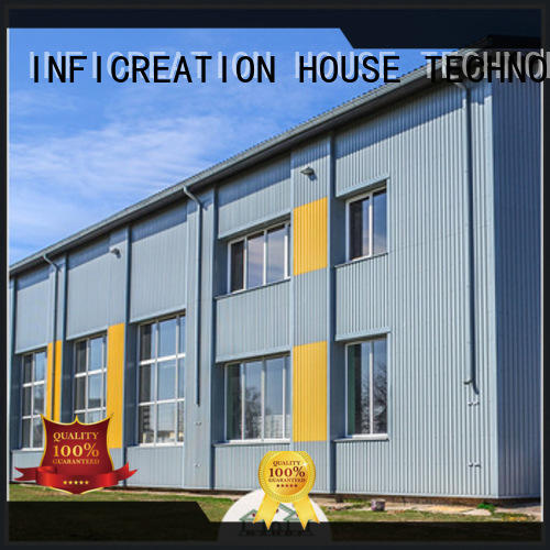 InfiCreation modern premade warehouse supplier for factory