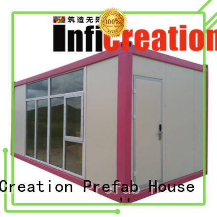 InfiCreation long lasting freight container homes manufacturer for office
