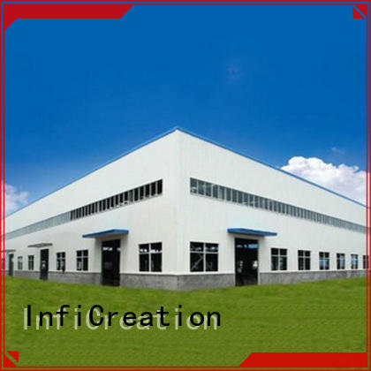 low cost prefab steel warehouse customized for storage